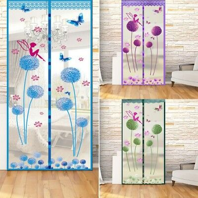 Anti Insect Fly Bug Mosquito Door Window Curtain Net Mesh Screen Protector Home