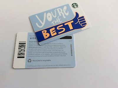 Geschenkkarte Starbucks USA # 6153 recyclable US 05 you are the BEST
