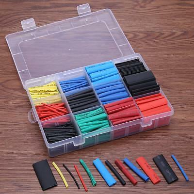 560x Insulation Assorted ​2:1 Heat Shrink Tubing Tube Wrap Sleeve Wire Cable Kit