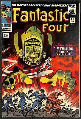 Fantastic Four #49 2nd App Silver Surfer & Galactus VG+