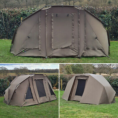 Quest Compact MK4 Carp Fishing Bivvy 1 2 Man Overnight Shelter Tackle Brolly