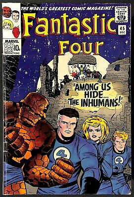 Fantastic Four #45 1st Inhumans VG
