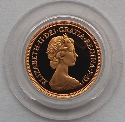1980 Gold Proof Half Sovereign