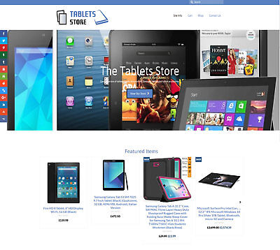 Automated TABLETS / iPADS business: Upto £250 per sale! FREE Domain/Hosting/SSL