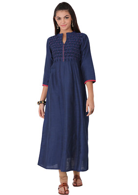 Indian Bollywood New Style Summer Collection Lagi Poly Silk Women Ethnic Kurti