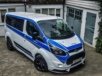 ford transit custom tsport edition modified one off msport. Black Bedroom Furniture Sets. Home Design Ideas