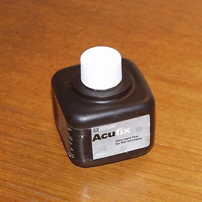 Paterson ACUFIX Ultra Rapid Fixer for film paper BLACK & WHITE darkroom old