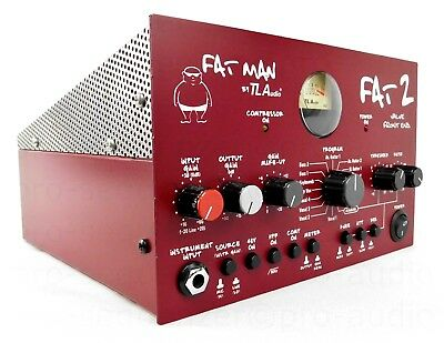 TL Audio Fat Man 2 Valve Tube Compressor Preamp + Top Zustand + Garantie