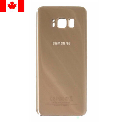 Samsung Galaxy S8 Rear Back Glass Panel Battery Replacement - Gold