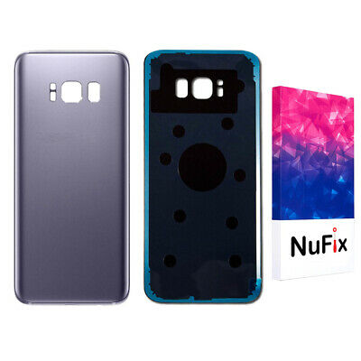 Samsung Galaxy S8 Rear Back Glass Panel Battery Replacement - Orchid Grey