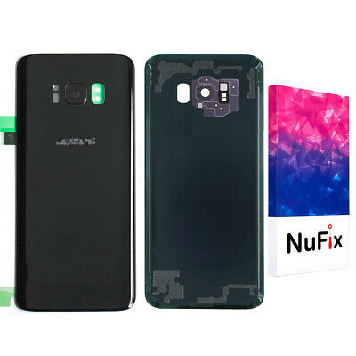Samsung Galaxy S8 PLus Rear Back Glass Panel Battery Replacement - Black G955W