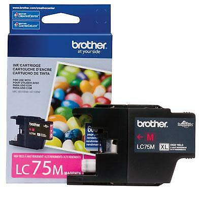Brother International LC75M High Yield Magenta Ink Cartrid