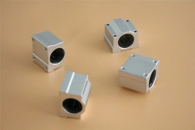4PCS SCS16UU 16mm Slides Unit CNC Pillow Block Linear Linear Ball Bearing CZ