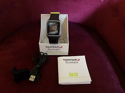 Tomtom Runner GPS Sports Watch (unwanted gift, excellent condition, fully Boxed)