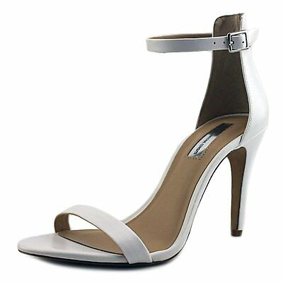 f03cb6a4bca INC International Concepts Womens Roriee Leather Open Toe Special Occasion  An..