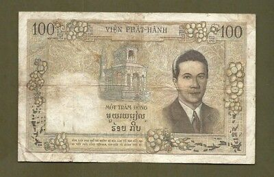French Indochina 100 Piastres VIET-NAM #2342