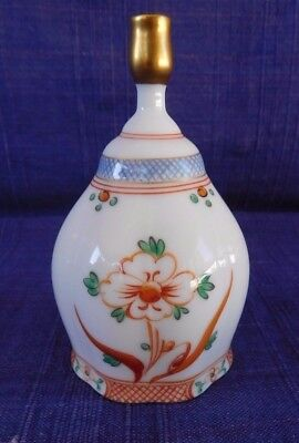 Sango Floral Bone China Bell Exclusive to DANBURY MINT