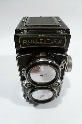 Rolleiflex 2.8 TLR  Xenotar 1:2,8 f=80mm   For parts  or Repair  PLEASE READ