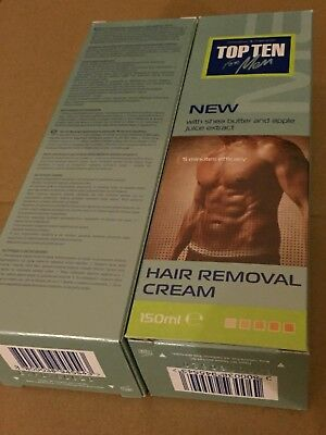 "Mens Hair Removal Cream ""top Ten"" Depilatory 