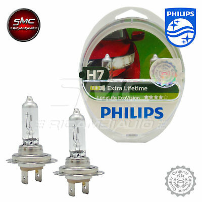 Philips 12972Llecos2 - Fanale Longlife Ecovision H7 2 Pezzi Nuovo