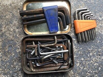 Allen Hex Keys Joblot, Metric Sizes