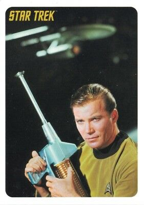 Star Trek TOS Captains Collection P1 promo card from Rittenhouse