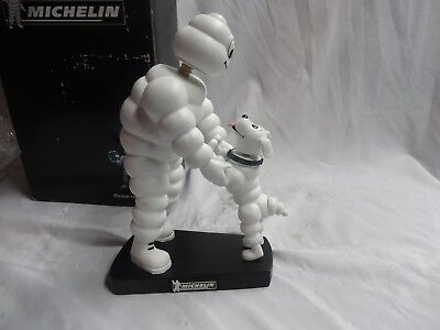 Vintage Michelin Man Bobblehead Bobble Head Statue Figurine w/Box