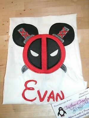 ONLY ONE Lilo OR Stitch Disney Mouse Ears Personalized Shirt.
