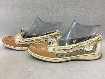 Women S Sperry Top Sider Angelfish Gold Python Boat Shoes