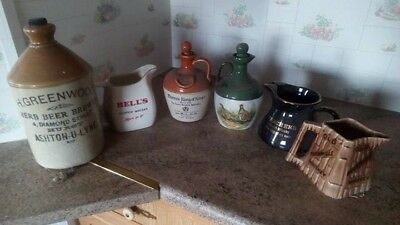 Collection of Antinque Toby Jugs job lot
