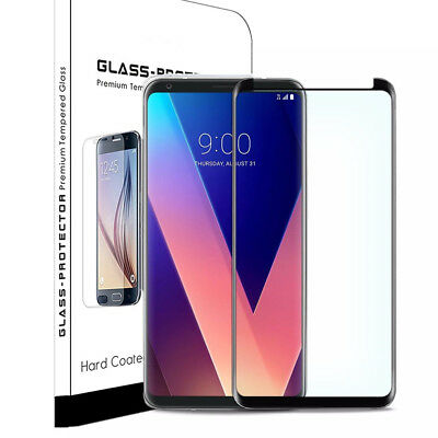 For LG V30 V30 Plus / LG V30S ThinQ Curved Full Screen Protector Tempered Glass