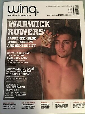 Winq Magazine - Warwick Rowers - Gay Interest