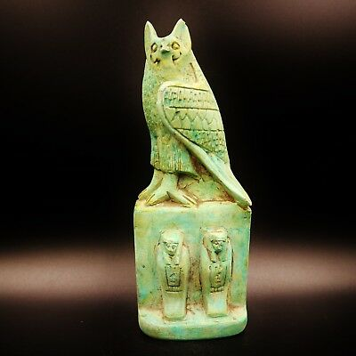Rare Antique Egyptian Statue of Falcon Horus (the God of Kings) Figure