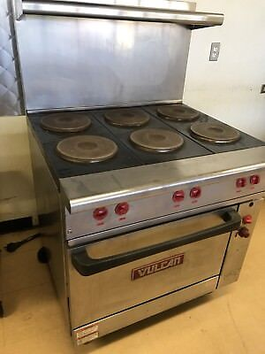 Vulcan 6 Burner Electric Stove