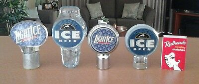 Hahn Ice/Fosters Lightice Beer tap badge. Man cave/collectible.P/up vic3805/post