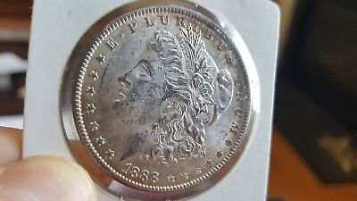 1888 Morgan Silver Dollar - Uncirculated (Purchased from Littleton Coin Company)