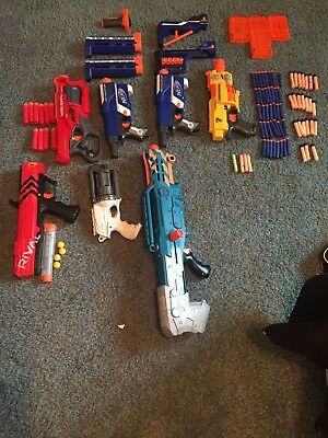 Nerf Guns, Large Lot, Used Great Condition