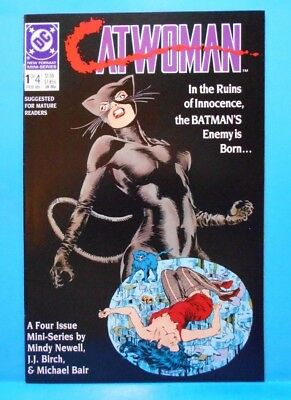 CATWOMAN #1 of 4 1989 DC Comics Uncertified Limited Series MATURE READERS ONLY