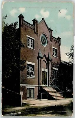 51273952 - New Jersey Plainfield Synagoge 1913