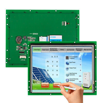"""STONE Software Developed 10.4"""" TFT LCD Touch Panel for Industry HMI Solution"""