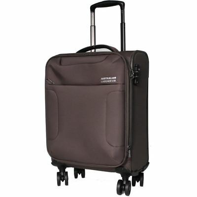 Australian Luggage Co SO LITE 3.0 Carry On Softsided Spinner Luggage - Khaki