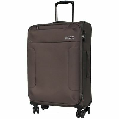 Australian Luggage Co SO LITE Medium Softsided Spinner Luggage - Khaki