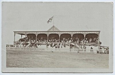 C1910 Rp Pu Postcard Exhibition Oval Grandstand Adelaide Gordon Walker Photo K8