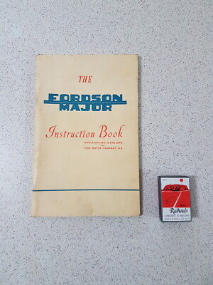 1957 The Fordson Major Instuction Book