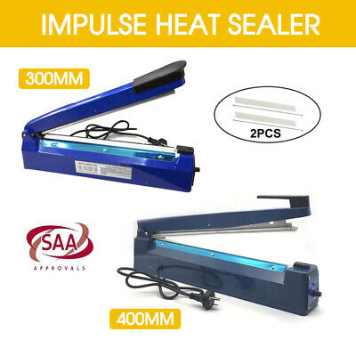 300mm/400mm Impulse Heat Sealer Sealing SAA Machine Electric Plastic Poly Bag