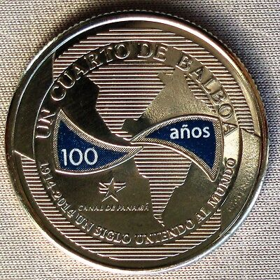 *NEW*PANAMA_2016_25 Cents_# 6 aus Serie 100 Years of Panama Canal_lose_unc color