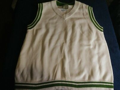 Old Navy Brand vest sweater shirt boy youth school church xs extra small holiday