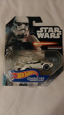 Hot Wheels CHARACTER CARS STAR WARS  STORMTROOPER