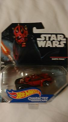 Hot Wheels CHARACTER CARS STAR WARS  DARTH MAUL