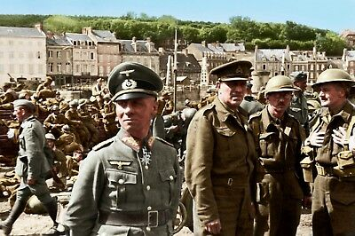 WW2 German Wehrmacht General Rommel in France Picture